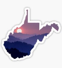 The West Virginia Hills Sticker
