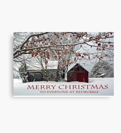Merry Christmas - 2015 Canvas Print