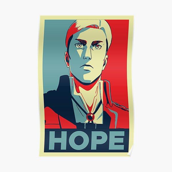 Attaque sur Titan Erwin Smith - Hope (version 2) Poster