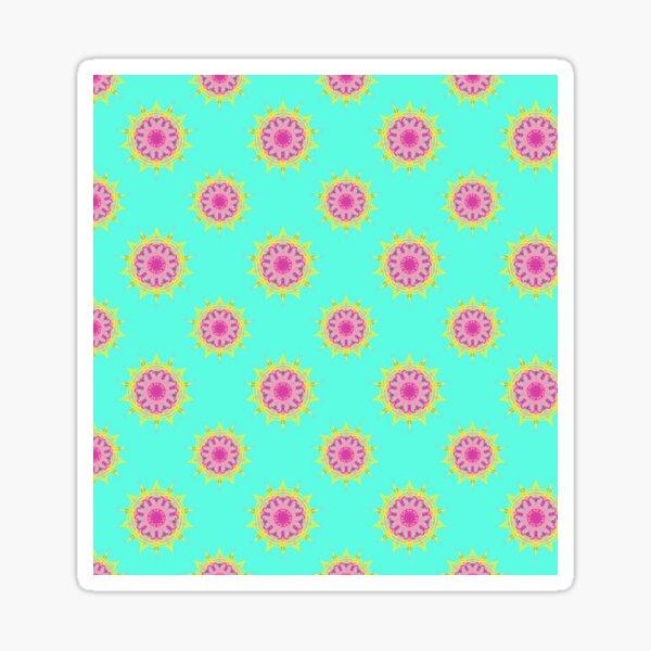 Purple Mandala  | Pattern Art Sticker
