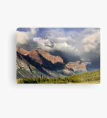 Storm Brewing in St. Mary Valley Metal Print