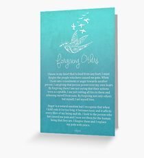 Affirmation - Forgiving Others Greeting Card