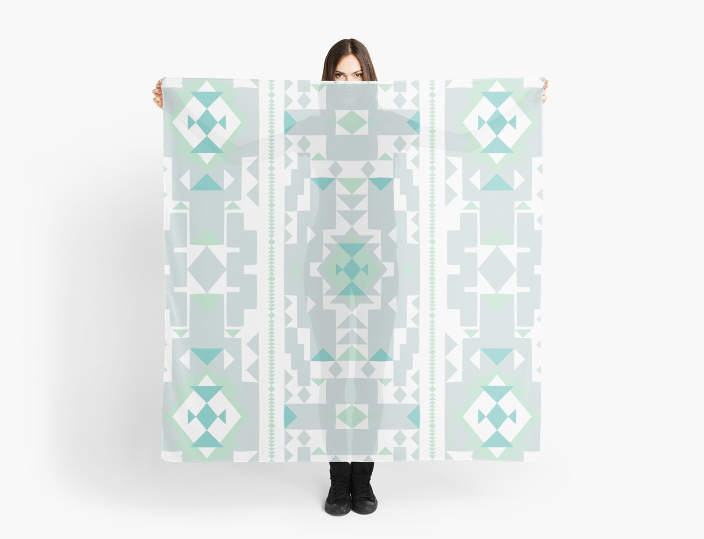 Cool New Mexico Adobe Soft neutral blue by aygeartist