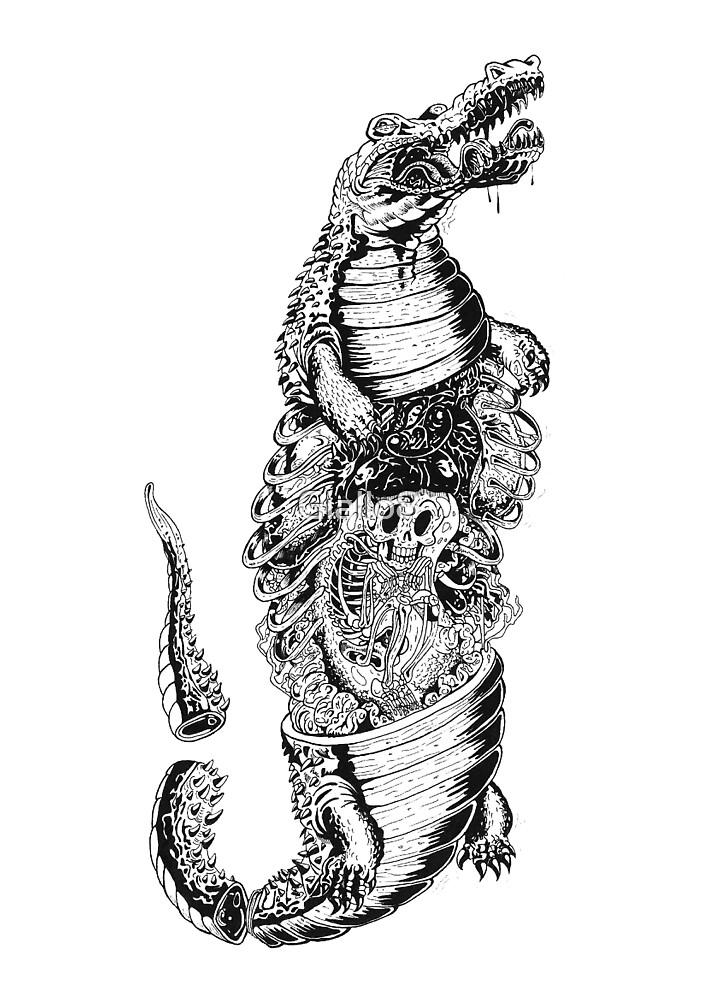 Hungry Crocodile by Giallo8
