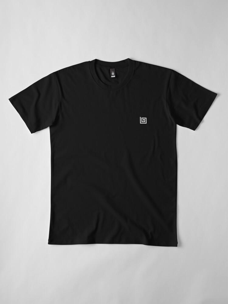 Alternate view of Lee Grace Illustrator Apparel  Premium T-Shirt