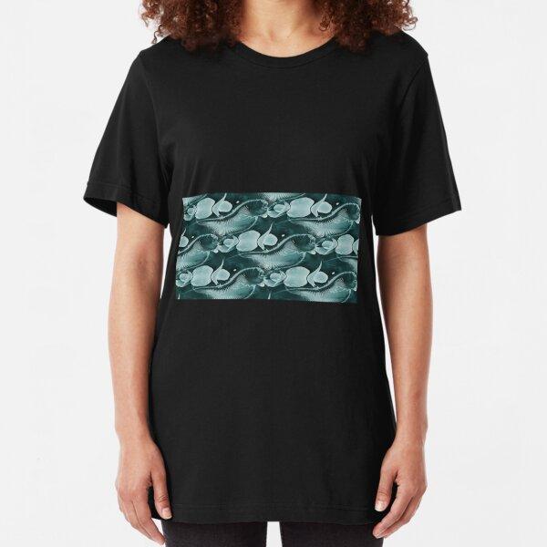 Swimming Upstream Slim Fit T-Shirt
