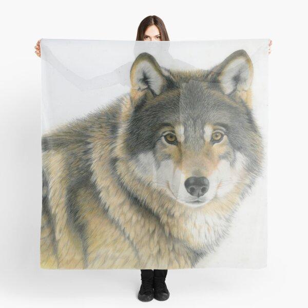 Grey Wolf Scarf
