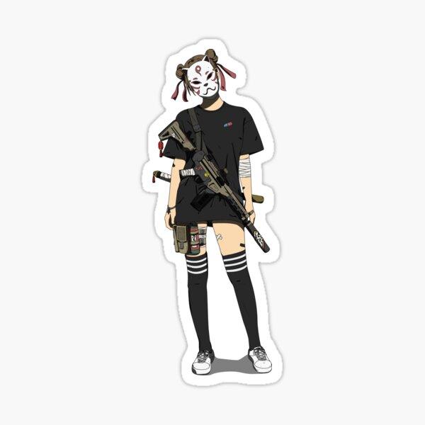 Kunoichi Sticker