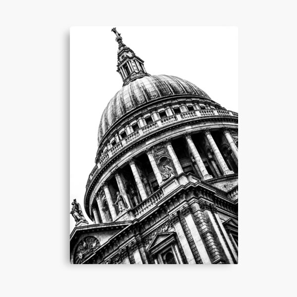 Distinguished Dome (BW) Canvas Print