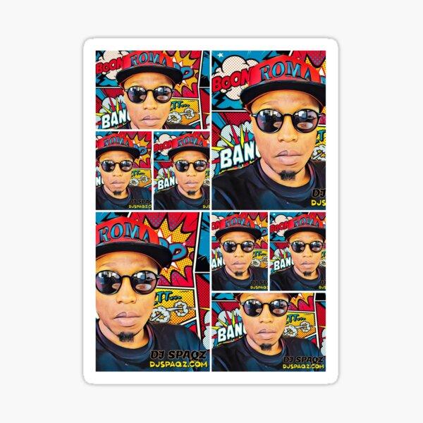 DJ Spaqz Sticker