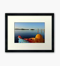 Relaxing Framed Print
