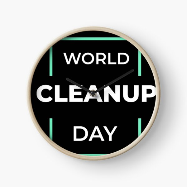 World Cleanup Day Clock