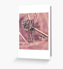 Other Whole Quote Greeting Card