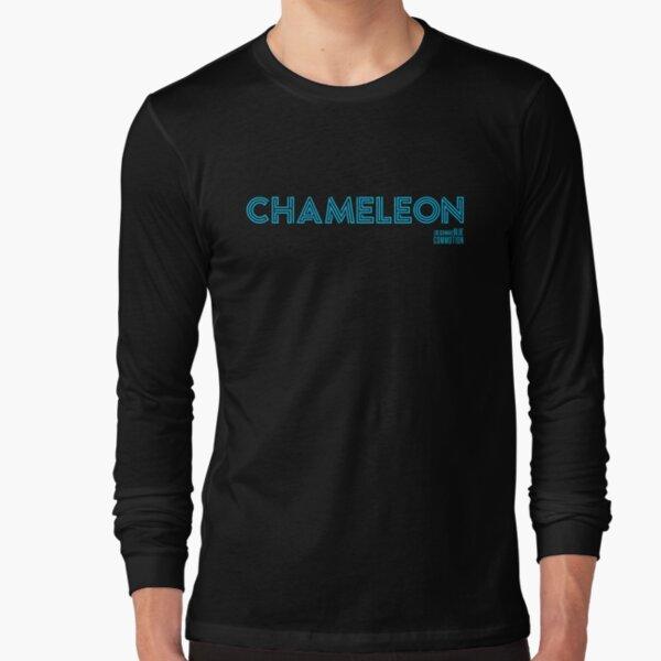 CHAMELEON (blue) Long Sleeve T-Shirt