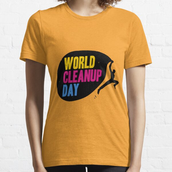 World Cleanup Day Essential T-Shirt