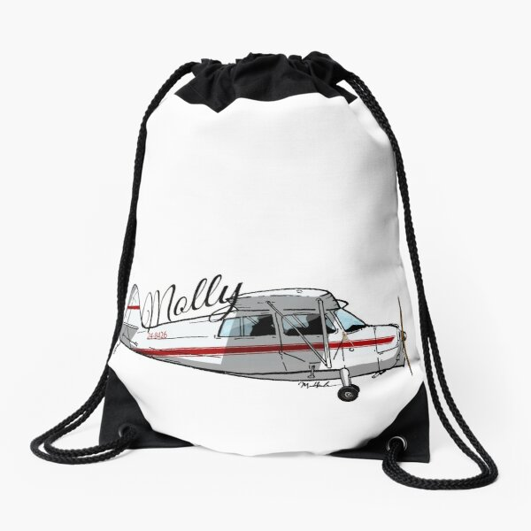Molly the Bellanca Champ 24-8426 Drawstring Bag