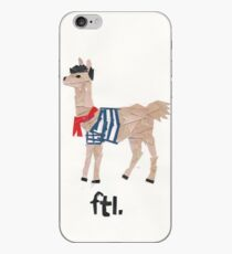 french the llama iPhone Case