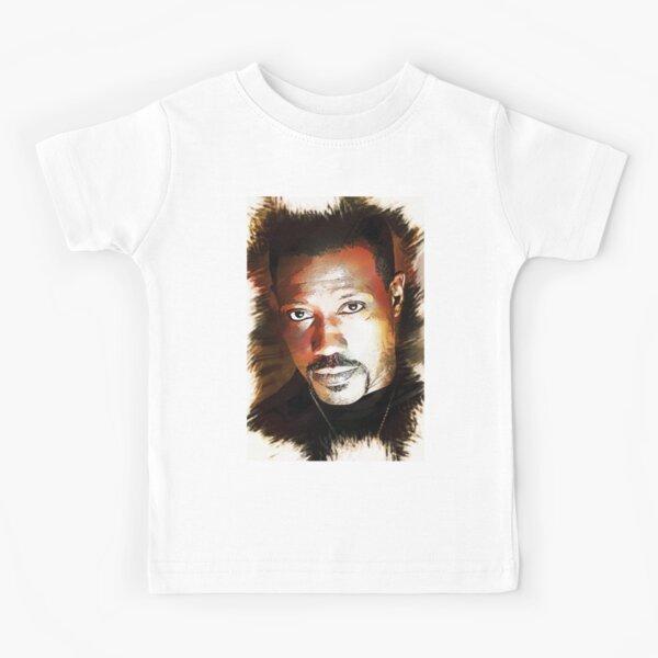 Wesley Snipes - Custom Digital Artwork Kids T-Shirt