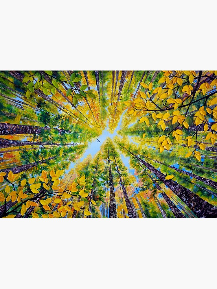 Sunny Day in early Autumn  by skyartpaintings