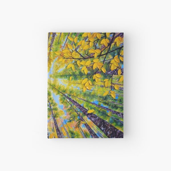 Sunny Day in early Autumn  Hardcover Journal