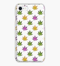 Marijuana Leaves Pattern iPhone Case/Skin