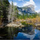 Mirror lake-Yosemite by Fidisoa Rasambainarivo