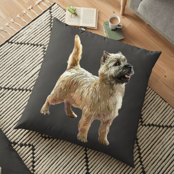 Cairn Terrier Beautiful dog Floor Pillow