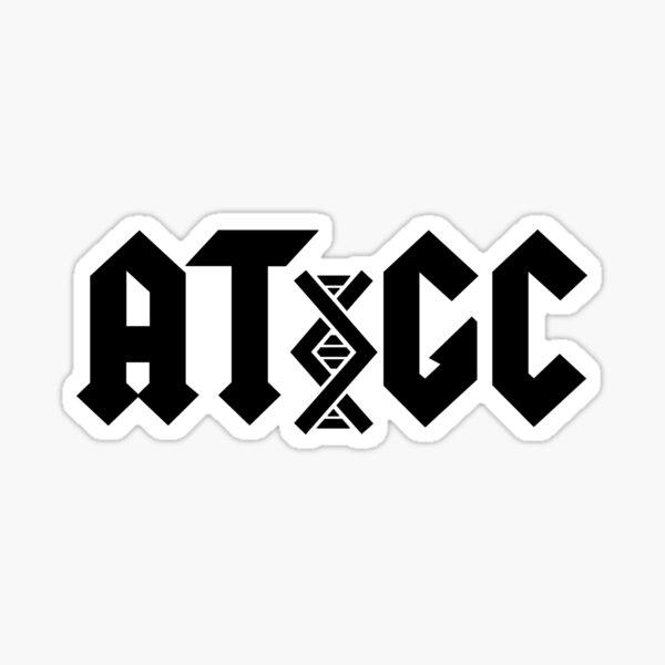 AC/DC DNA Sticker