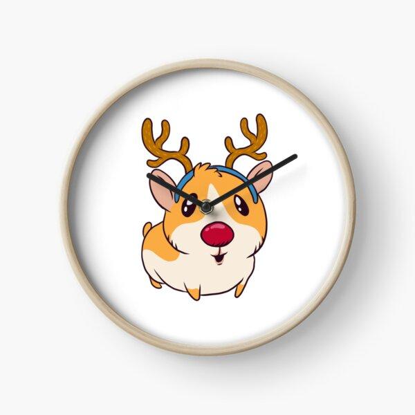 christmas guinea pig Clock