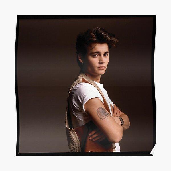Jeune Johnny Depp Poster