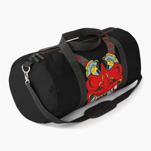 Oni Japanese Mask Fighting Demons Cool Art Duffle Bag