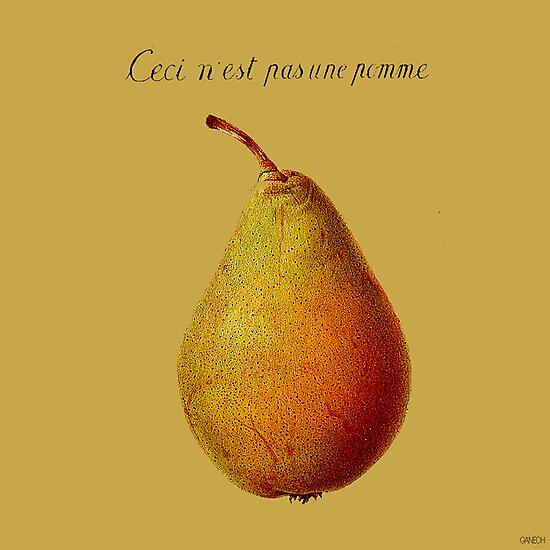 Ceci n'est pas une pomme by ganechJoe