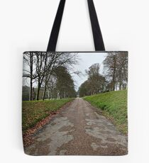 """ A leafless Drive"" Tote Bag"