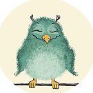 Fluffy owl by Egle Plytnikaite