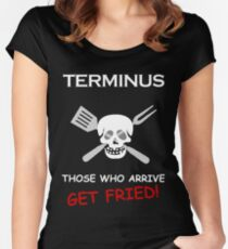 Terminus Cannibals Women's Fitted Scoop T-Shirt
