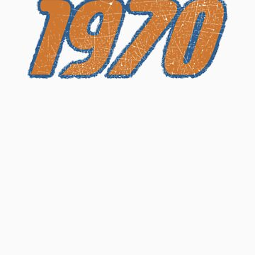Vintage Look 1970's Funky Year Graphic 1970 by VintageSpirit