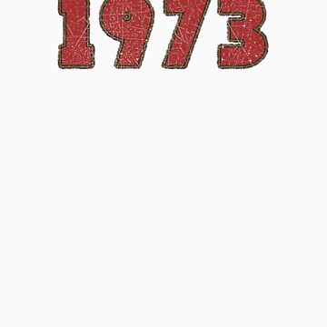 Vintage Look 1970's Funky Year Graphic 1973 by VintageSpirit