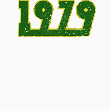 Vintage Look 1970's Funky Year Graphic 1979 by VintageSpirit