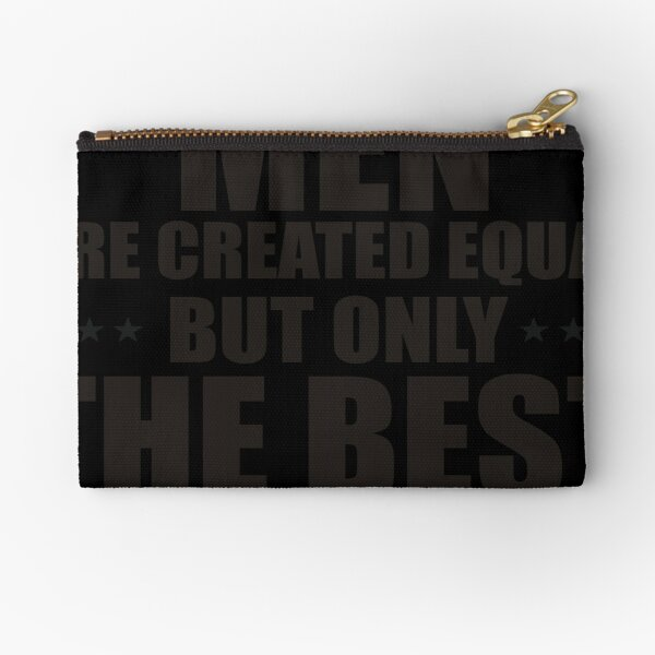 All Men Are Created Equal Zipper Pouch