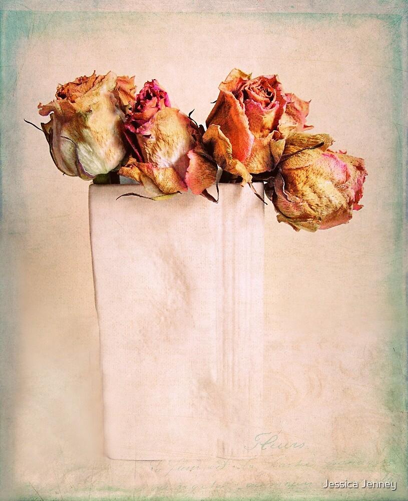 Still Life Roses by Jessica Jenney