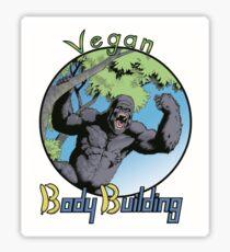 Vegan Bodybuilding Sticker