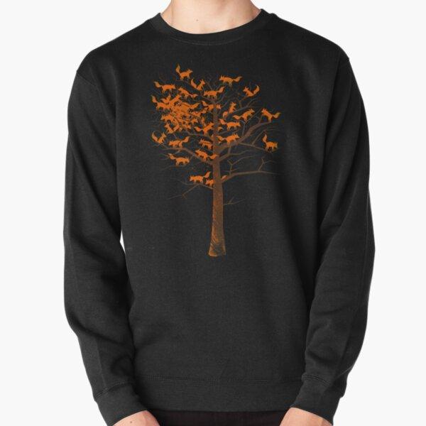 Blazing Fox Tree Pullover Sweatshirt