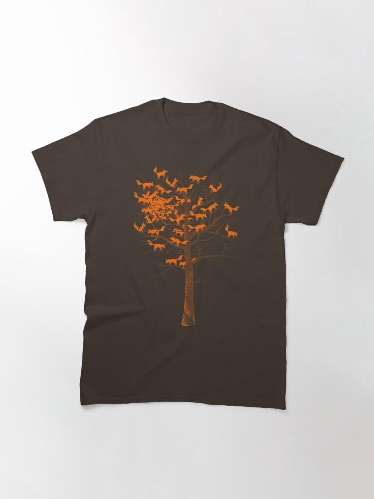 Alternate view of Blazing Fox Tree Classic T-Shirt