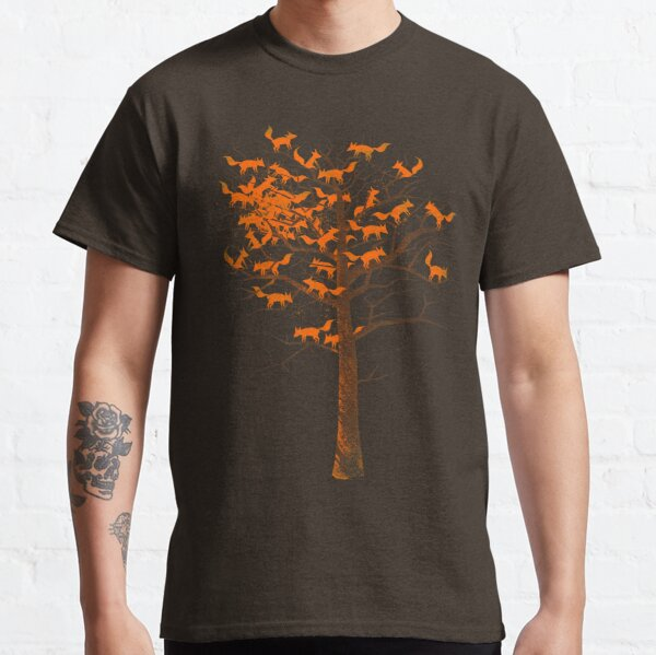 Blazing Fox Tree Classic T-Shirt