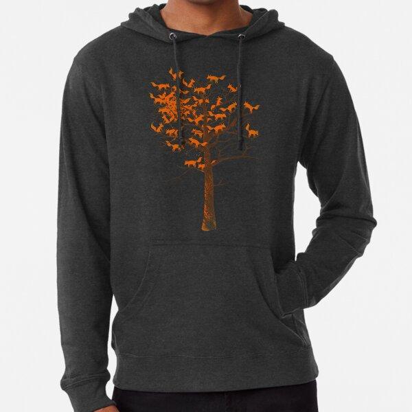 Blazing Fox Tree Lightweight Hoodie