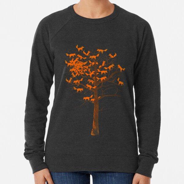 Blazing Fox Tree Lightweight Sweatshirt
