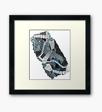 The Weight of Stories Framed Print