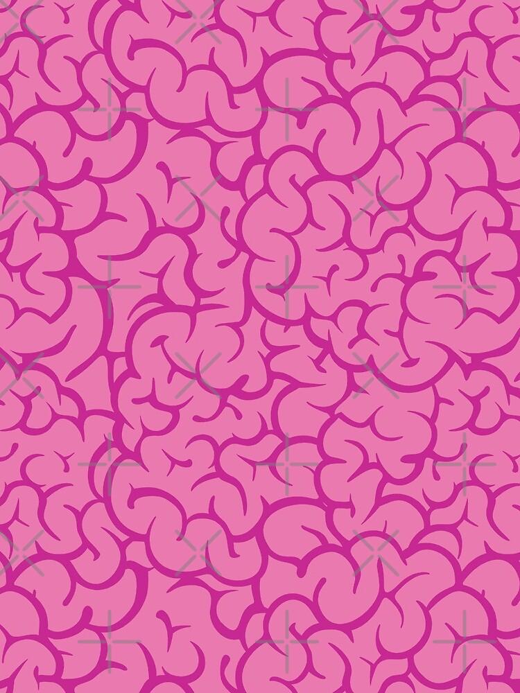 Pink brains pattern by dmitriylo
