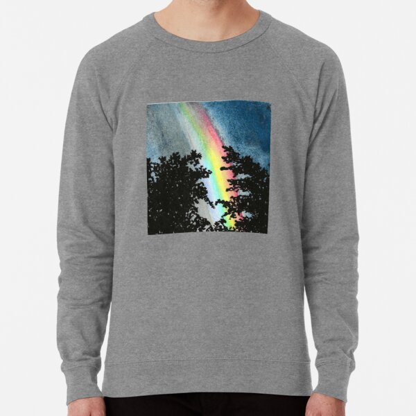 Rainbow Through the Trees Lightweight Sweatshirt