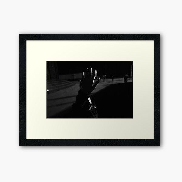 no photo Framed Art Print